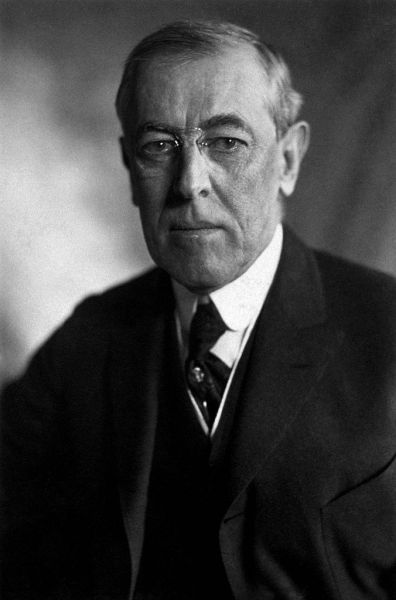 Woodrow Wilson, President of the United States